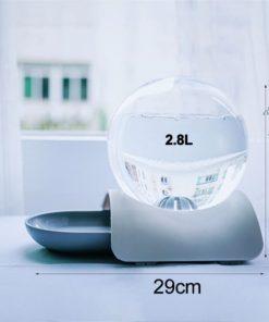 Fontaine à eau bulle dimensions