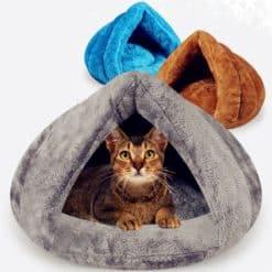 Niche igloo pour chat ou petit chien