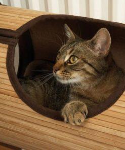 Tunnel à suspendre au radiateur pour chats