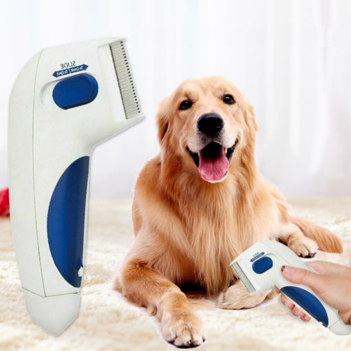 Peigne Anti Puces électrique pour chiens et chats