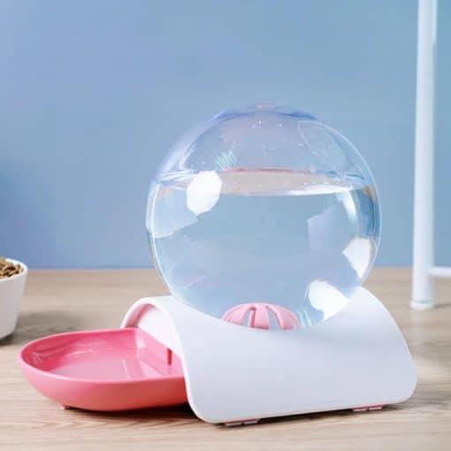 Fontaine à eau bulle rose