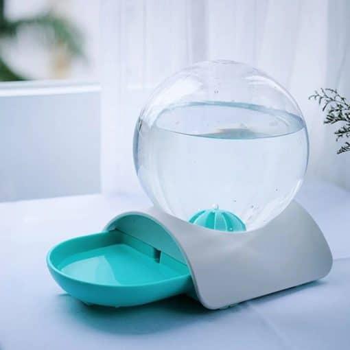 Fontaine à eau bulle turquoise