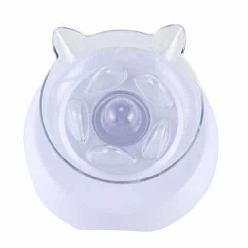 Gamelle pour chats anti-glouton